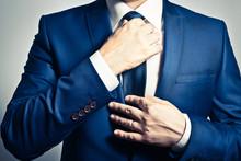 スーツをきれいに着こなす体作り