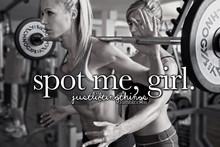 世界中の筋トレ女子が集まったサイト。spot me, girl.